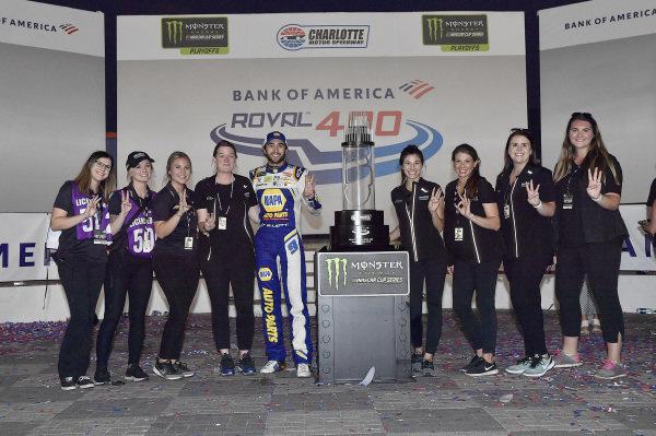 #9: Chase Elliott, Hendrick Motorsports, Chevrolet Camaro NAPA AUTO PARTS wins