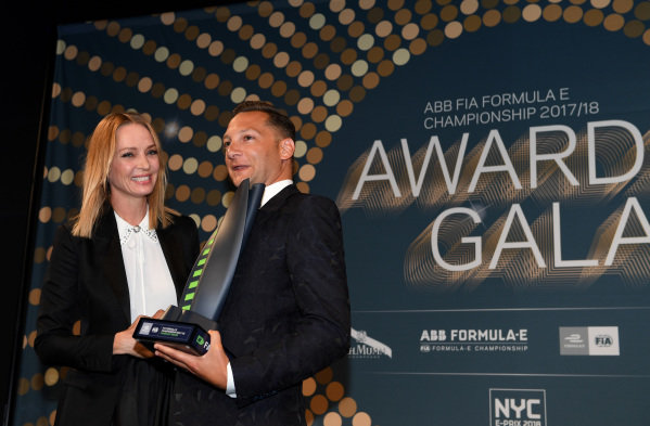 Actress Uma Thurman at the Awards Gala.