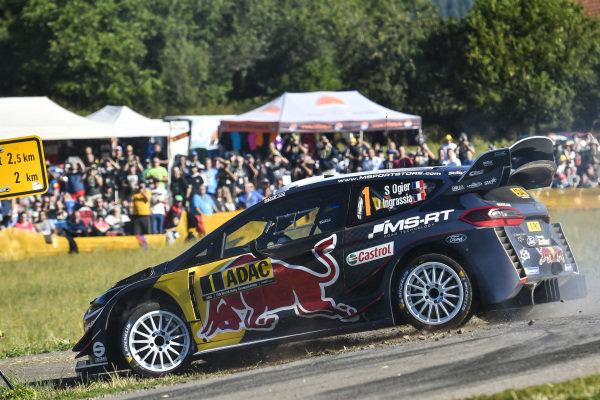 Sebastien Ogier is another favourite for top honours on Rallye Deutschland