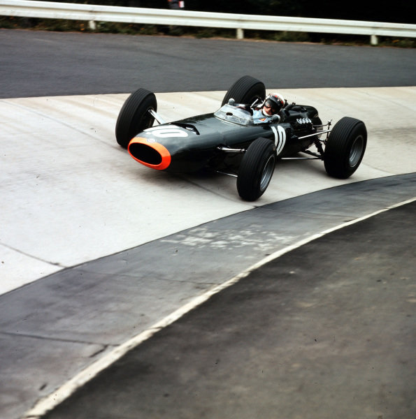 1965 German Grand Prix. Nurburgring, Germany. 1st August 1965. Jackie Stewart, (BRM P261), retired, action. World Copyright: LAT Photographic Ref-3/1825.