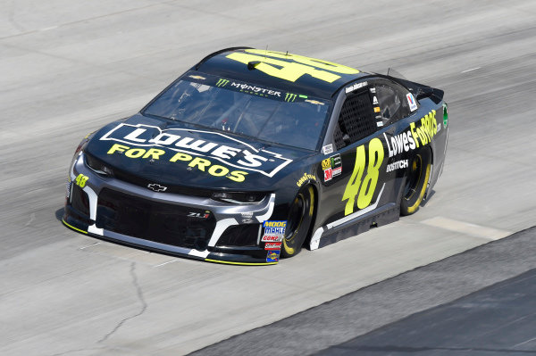 #48: Jimmie Johnson, Hendrick Motorsports, Chevrolet Camaro Lowe's for Pros