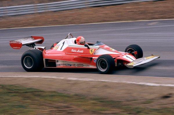 1976 Formula 1 World ChampionshipNiki Lauda, Ferrari 312 T2World Copyright: LAT Photographic.ref: 35mm Transparency.