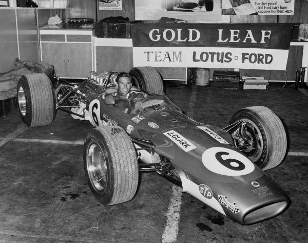 New Zealand Grand Prix Pukekohe 6th January 1968 Jim Clark