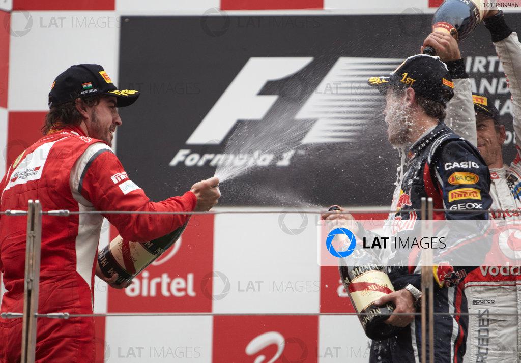 2011 Indian Grand Prix - Sunday