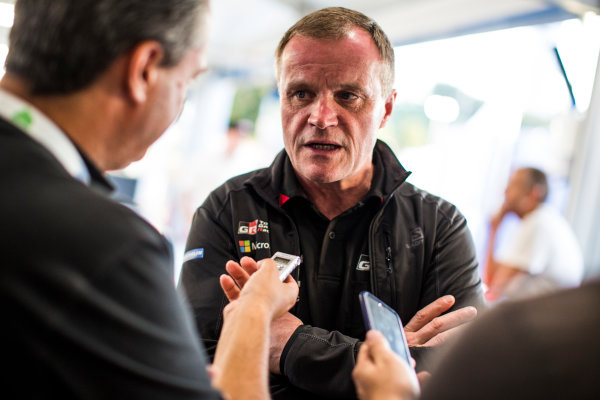 2017 FIA World Rally Championship, Round 13, Rally Australia 2017, 16-19 November 2017, Tommi Makinen, Toyota, portrait, Worldwide Copyright: LAT/McKlein
