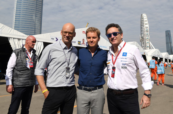 2017/2018 FIA Formula E Championship. Round 1 - Hong Kong, China. Saturday 02 December 2017. Nico Rosberg Photo: Sam Bagnall/LAT/Formula E ref: Digital Image SB1_6201