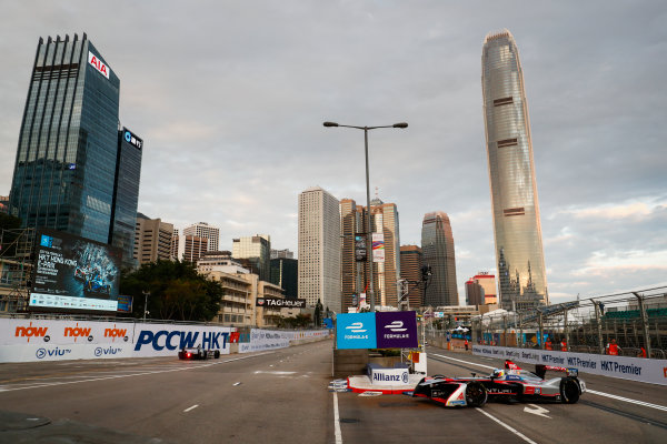 2017/2018 FIA Formula E Championship. Round 1 - Hong Kong, China. Saturday 02 December 2017. Maro Engel (GER), Venturi Formula E, Venturi VM200-FE-03. Photo: Sam Bloxham/LAT/Formula E ref: Digital Image _J6I3784