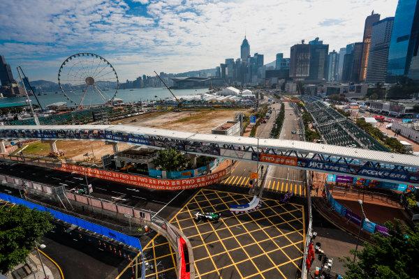2017/2018 FIA Formula E Championship. Round 1 - Hong Kong, China. Saturday 02 December 2017.Lucas Di Grassi (BRA), Audi Sport ABT Schaeffler, Audi e-tron FE04. Photo: Alastair Staley/LAT/Formula E ref: Digital Image _ALS5617