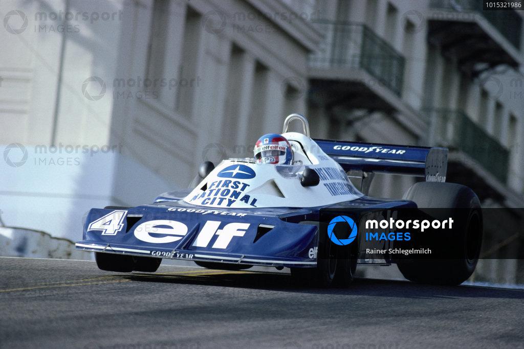 Patrick Depailler, Tyrrell P34 Ford.