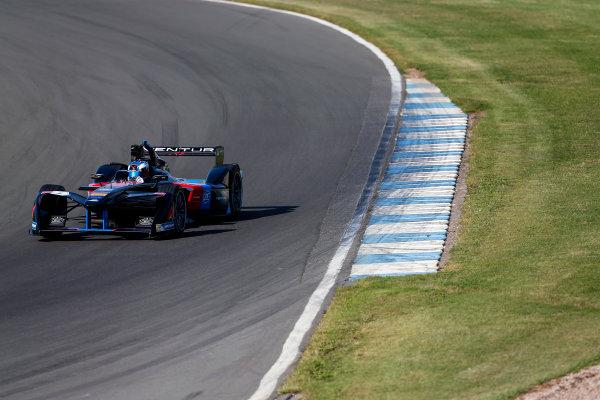 FIA Formula E Season 3 Testing - Day Two. Donington Park Racecourse, Derby, United Kingdom. Maro Engel, Venturi Formula E Team, Spark-Venturi. Wednesday 24 August 2016. Photo: Adam Warner / LAT / FE. ref: Digital Image _L5R0284