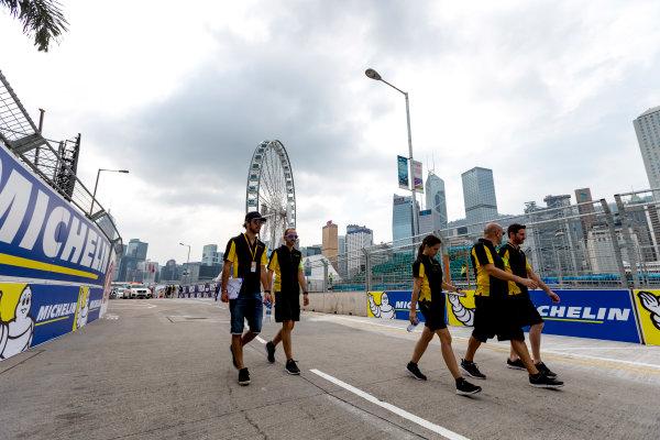 2016/2017 FIA Formula E Championship. Hong Kong ePrix, Hong Kong, China. Saturday 8 October 2016. Jean-Eric Vergne (FRA), Techeetah, Spark-Renault, Renault Z.E 16.  Photo: Zak Mauger/LAT/Formula E ref: Digital Image _X0W1469