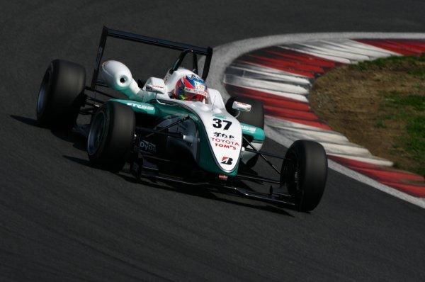 2008 Japanese Formula Three ChampionshipFuji Speedway, Japan. Rounds 1 & 25th - 6th April 2008.Round 2 winner - Takuto Iguchi (Petronas TOM's F308), 1st position. Action. World Copyright: Yasushi Ishihara / LAT Photographicref: Digital image 2008JF3_Rd2_003