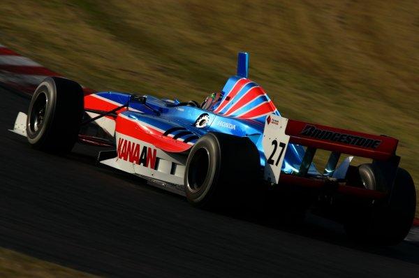 2007 Formula Nippon ChampionshipSuzuka Circuit, Japan17th - 18th November 2007Tony Kanaan (Kanaan Racing). 6th position. Action.World Copyright: Yasushi Ishihara/LAT Photographicref: Digital Image 2007FN_R9_027