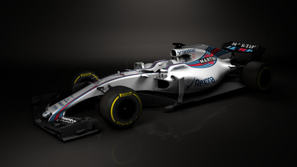 Williams FW40 Unveil Friday 17th February 2017 Photo: WilliamsF1 (COPYRIGHT FREE For Editorial Use Only)