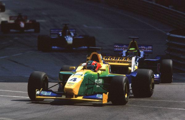 2001 F3000 ChampionshipMonte Carlo, Monaco. 26th May 2001Ricardo Sperafico (Petrobras Jnr.) - action.World Copyright: Clive Rose / LAT Photographicref: 35mm Image A05