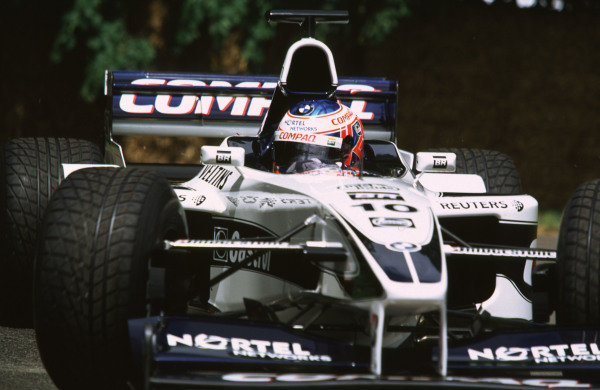 2000 Festival of Speed.Goodwood, England, Great Britain. 23-25 June 2000. Jenson Button (Williams FW22-BMW).World - LAT Photographic