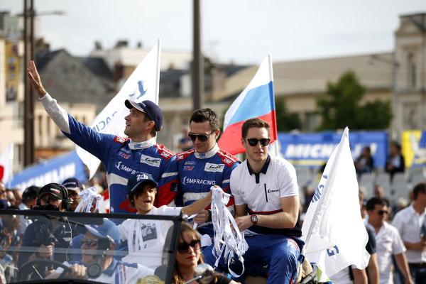#11 SMP Racing BR Engineering BR1: Mikhail Aleshin, Vitaly Petrov, Stoffel Vandoorne.