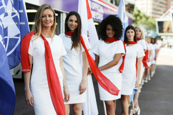 Monaco grid girls