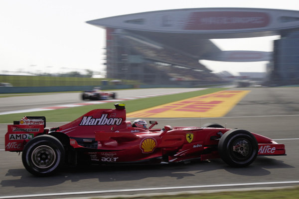 Kimi Räikkönen, Ferrari F2007.