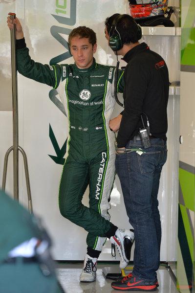 Robin Frijns (NED) Caterham. Formula One World Championship, Rd9, British Grand Prix, Practice, Silverstone, England, Friday 4 July 2014.