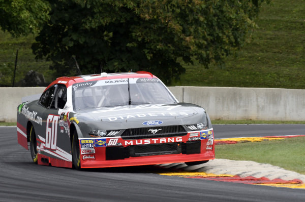 #60: Ty Majeski, Roush Fenway Racing, Ford Mustang Ford Drive Down A1C Lilly Diabetes