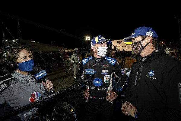 #10 Konica Minolta Cadillac DPi-V.R. Cadillac DPi, DPi: Renger Van Der Zande, Ryan Briscoe, Scott Dixon, winners, NBC
