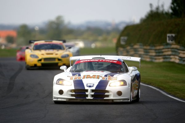 2007 British GT Championship.Croft, England. 8th and 9th September 2007.Neil Cunningham/Phiroze Bilimoria(Dodge Viper Competition Coupe).Action.World Copyright: Drew Gibson/LAT