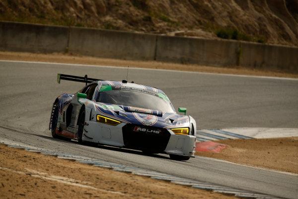 29 April - May 1, 2016, Monterey, California , 9, Audi, R8 LMS GT3, GTD, Lawson Aschenbach, Matt Bell ?2016, Michael L. Levitt LAT Photo USA