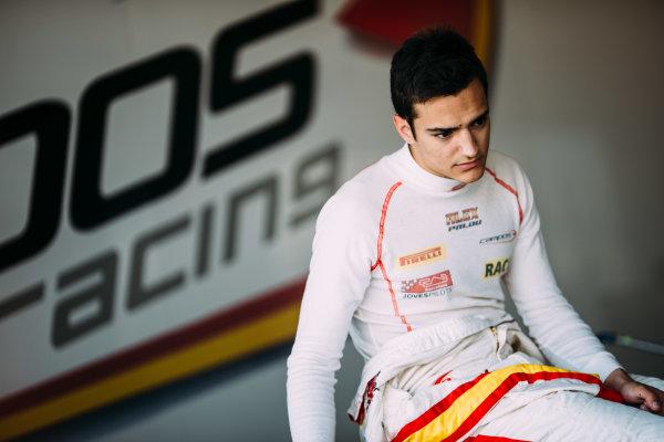 2016 GP3 Series Testing. Estoril, Portugal. Thursday 24 March 2016. Alex Palou (ESP) Campos Racing  World Copyright: Malcolm Griffiths/LAT Photographic. ref: Digital Image F80P4915