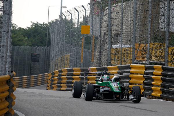 2015 Macau Formula 3 Grand Prix Circuit de Guia, Macau, China 18th - 22nd November 2015 Sam Macleod (GBR) Team West-Tec F3 Dallara Mercedes World Copyright: XPB Images/LAT Photographic ref: Digital Image 2015-Macau-F3-AT1-0478