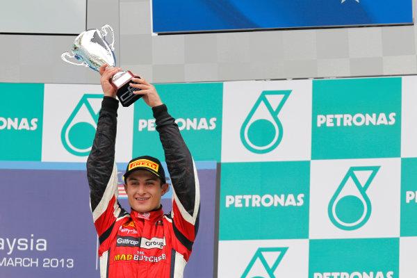 2013 GP2 Series. Round 1.  Sepang, Kuala Lumpur, Malaysia. 24th March 2013.  Sunday Race.  Mitch Evans (NZL, Arden International). World Copyright: Alastair Staley/GP2 Series Media Service.  ref: _A8C6274