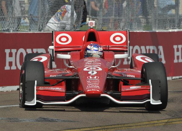 22-24 March, 2013, St Petersburg, Florida USA.#9 Scott Dixon Target Chip Ganassi Racing Honda ©2013, Dan R.  LAT Photo USA