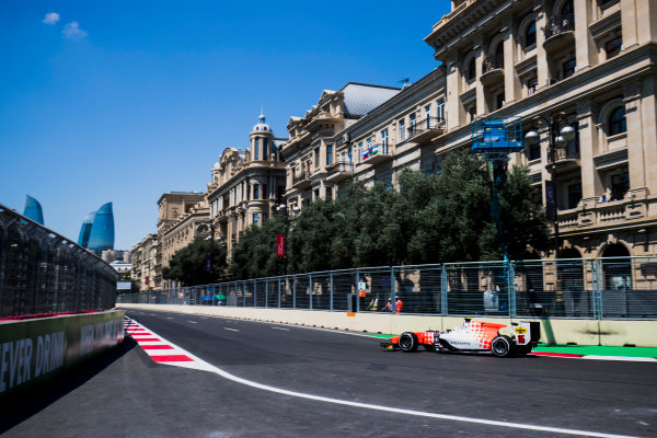 2017 FIA Formula 2 Round 4. Baku City Circuit, Baku, Azerbaijan. Friday 23 June 2017. Jordan King (GBR, MP Motorsport)  Photo: Zak Mauger/FIA Formula 2. ref: Digital Image _54I9516