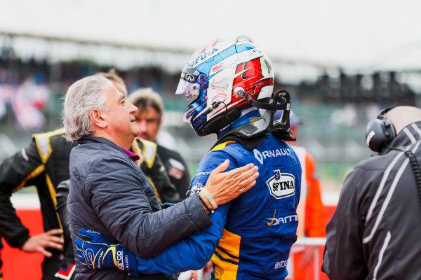 2017 FIA Formula 2 Round 6. Silverstone, Northamptonshire, UK. Sunday 16 July 2017. Nicholas Latifi (CAN, DAMS).  Photo: JEP/FIA Formula 2. ref: Digital Image 1DXA9130