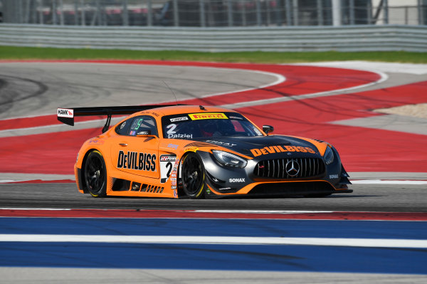 Pirelli World Challenge Grand Prix of Texas Circuit of The Americas, Austin, TX USA Friday 1 September 2017 Ryan Dalziel/Daniel Morad World Copyright: Richard Dole/LAT Images ref: Digital Image RD_COTA_PWC_17006