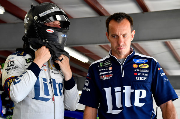 Monster Energy NASCAR Cup Series ISM Connect 300 New Hampshire Motor Speedway Loudon, NH USA Friday 22 September 2017 Brad Keselowski, Team Penske, Miller Lite Ford Fusion Paul Wolfe World Copyright: Rusty Jarrett LAT Images