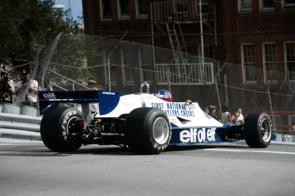 Patrick Depailler (FRA) Tyrrell 008 finished the race in fourth position.United States Grand Prix West, Rd 4, Long Beach, USA, 2 April 1978.BEST IMAGE