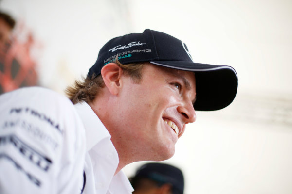 Hockenheimring, Hockenheim, Germany. Saturday 19 July 2014. Nico Rosberg, Mercedes AMG. World Copyright: Charles Coates/LAT Photographic. ref: Digital Image _J5R4633