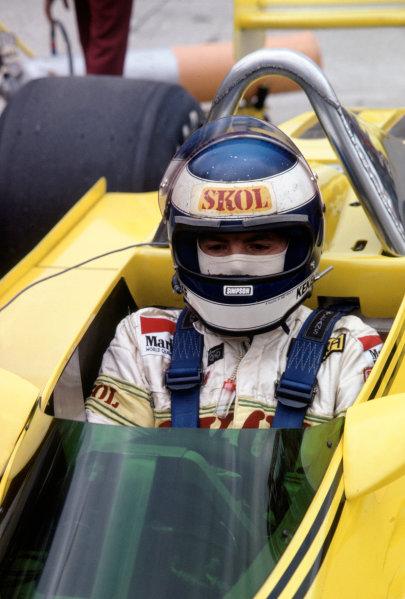 Watkins Glen, USA. 3-5 October 1980. Keke Rosberg, Fittipaldi F8-Ford Cosworth, 10th position. World Copyright: LAT Photographic. Ref: 80USA13