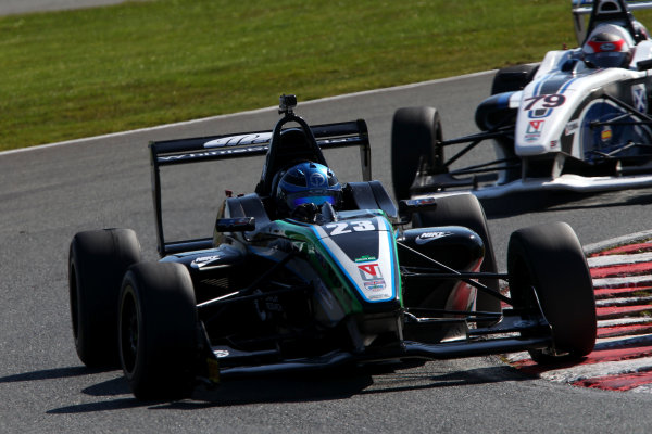 2015 BRDC Formula 4 Championship, Oulton Park, Cheshire. 4th - 6th April 2015. Jordan Albert (GBR) SWR BRDC F4. World Copyright: Ebrey / LAT Photographic.