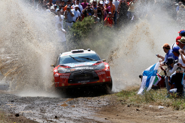 Round 07 Acropolis Rally. 16th - 19th June 2011.Petter Solberg, Citroen WRC, Action.Worldwide Copyright: McKlein/LAT
