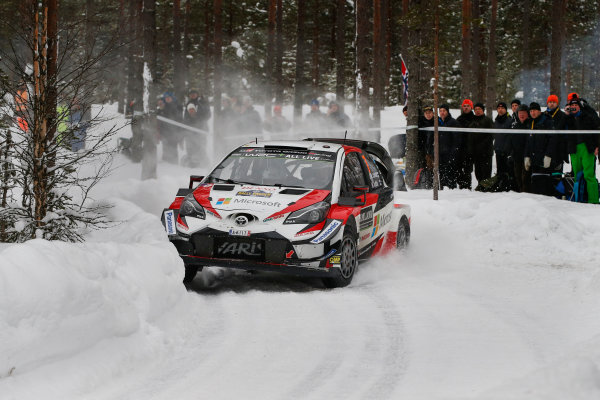 2018 FIA World Rally Championship, Round 02, Rally Sweden 2018, February 15-18, 2018. Jari-Matti Latvala, Toyota, Action Worldwide Copyright: McKlein/LAT