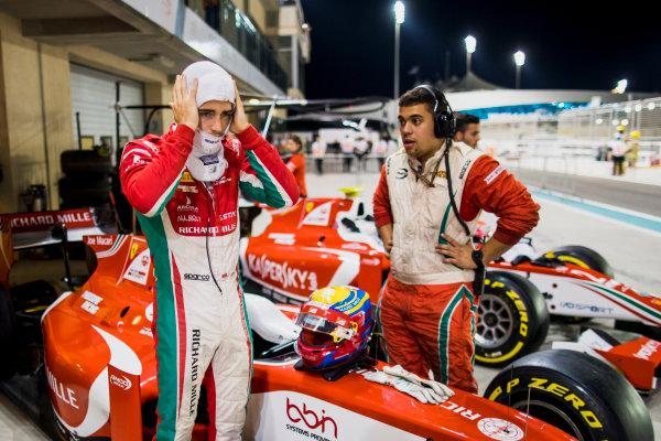 2017 FIA Formula 2 Round 11. Yas Marina Circuit, Abu Dhabi, United Arab Emirates. Friday 24 November 2017. Charles Leclerc (MCO, PREMA Racing).  Photo: Zak Mauger/FIA Formula 2. ref: Digital Image _56I0945