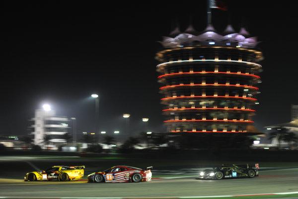 Bahrain, 27th-29th September 2012,Robert Kauffman/Rui Aguas/Brian Vickers AF Corse Waltrip Ferrari 458 Italia World copyright: Ebrey/LAT Photographic