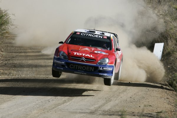 2005 FIA World Rally Championship Round 3, Mexico Rally. 10th - 13th March 2005. Francois Duval,(Citroen Xsara WRC), retired, action. World Copyright: McKlein/LAT Photographic. ref: Digital Image Only.