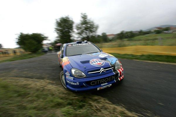 2006 FIA World Rally Champs. Round elevenDeutschland Rally.9th- 13th August 2006.Toni Gardemeister, Citroen, action.World Copyright: McKlein/LAT