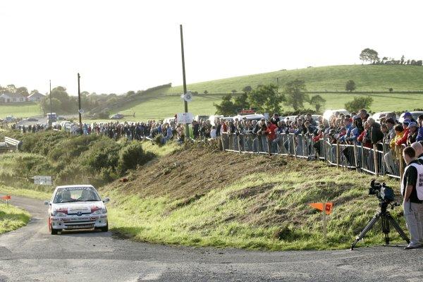 2006 British Rally ChampionshipUlster Rally, Armagh.2nd September 2006Andrew BusheWorld Copyright - Ebrey/LAT Photographic