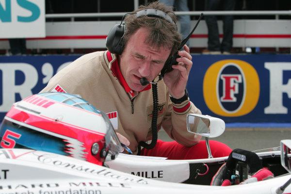 2005 GP2 Series - Great BritainSilverstone , England8th - 10th July 2005Friday QualifyingAlexandre Premat (F, ART Grand Prix). Portrait. World Copyright: GP2 Series Media Service ref: Digital Image Only