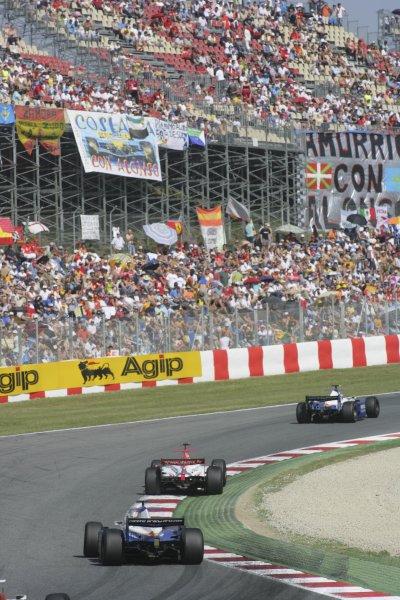 2007 GP2 Series. Round 2. Sunday RaceBarcelona, Spain. 13th May 2007. GP2 race action.World Copyright: Andrew Ferraro/GP2 Series Media Sevice  ref: Digital Image ZP9O7133