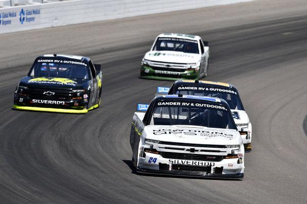 #24: Sam Mayer, GMS Racing, Chevrolet Silverado QPS